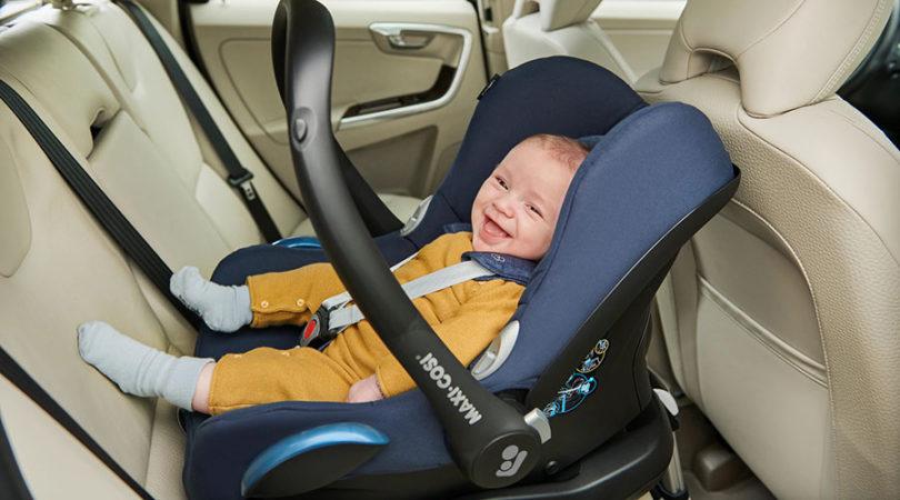 Autostoel achterwaarts veiliger