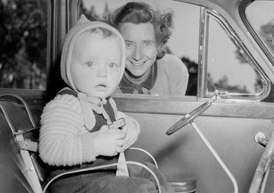 Geschiedenis autostoel